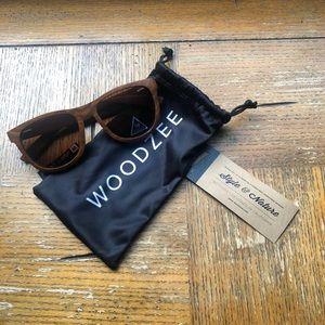 NWOT Wooden sunglasses